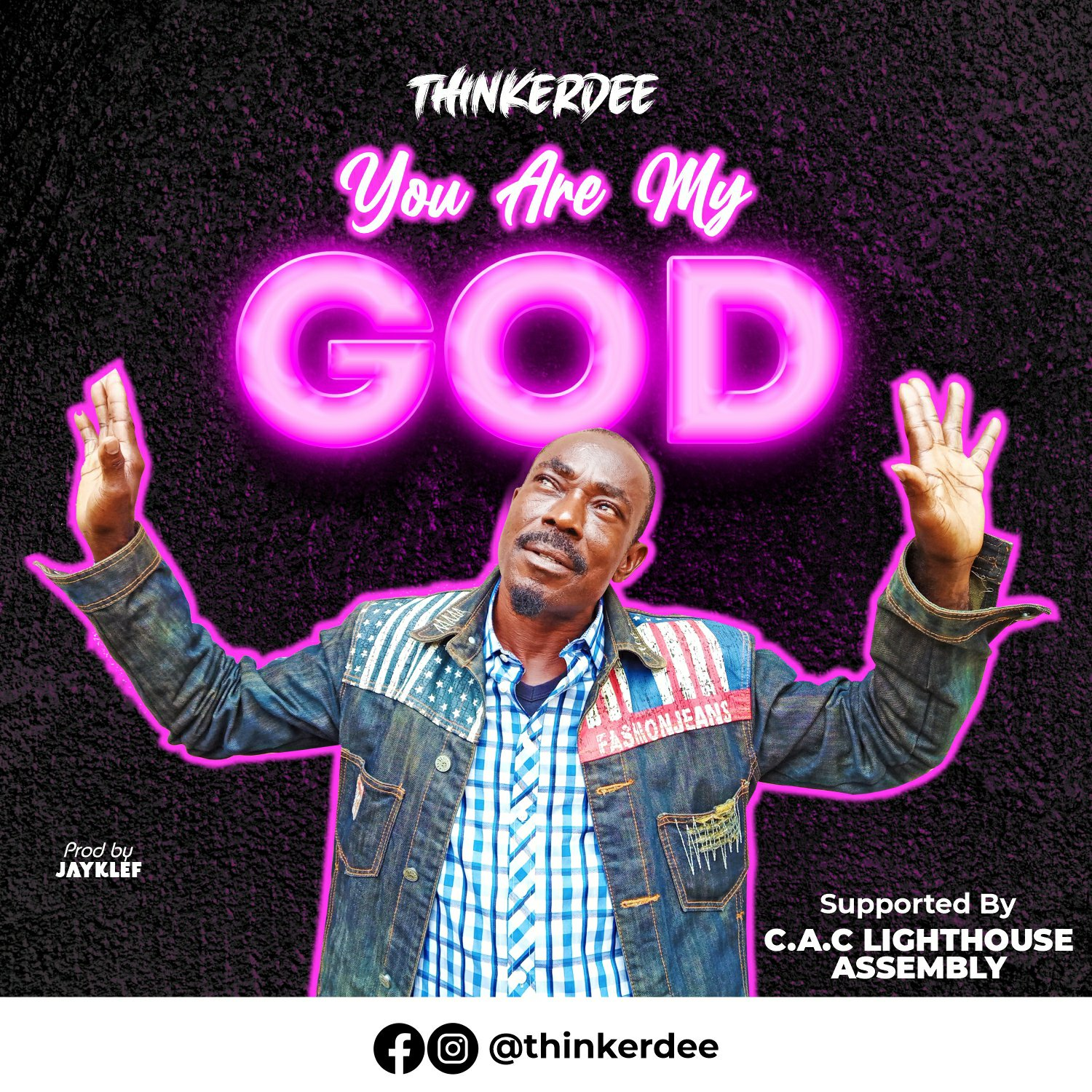 DOWNLOAD Music: Thinkerdee – You Are My God
