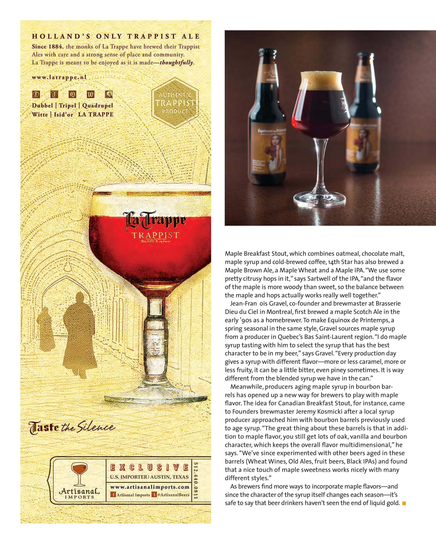 Beer Advocate Kingdom Brewing Maple Nut