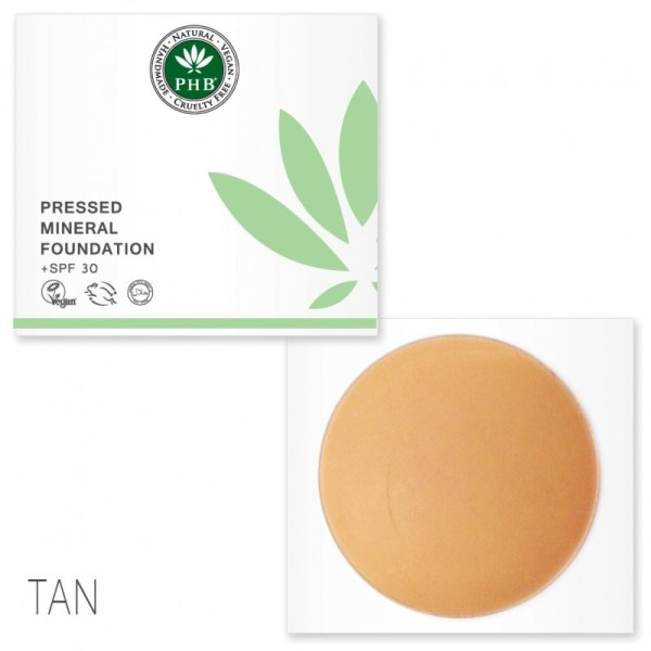 PHB Ethical Beauty pressed mineral foundation tan