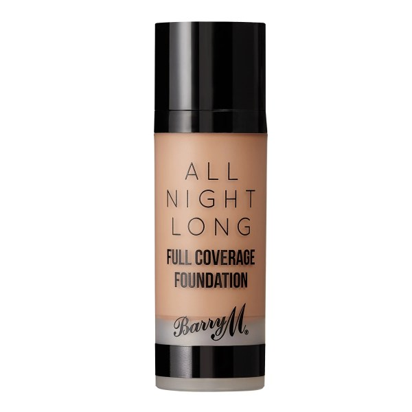 barry M all night long foundation almond