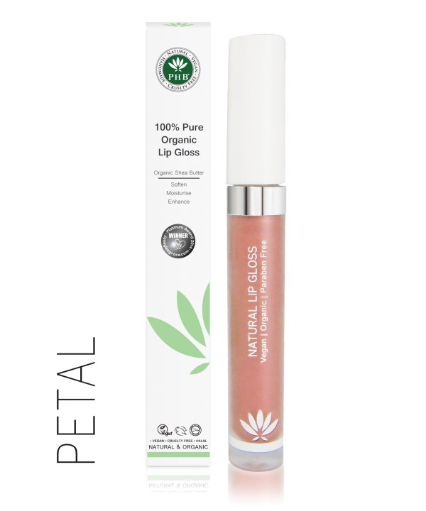 PHB Ethical Beauty lipgloss petal