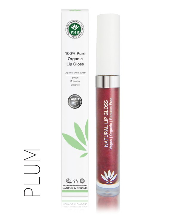 PHB Ethical Beauty lipgloss plum