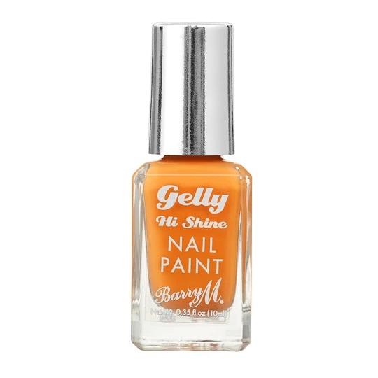 Barry M gelly nail varnish tangerine