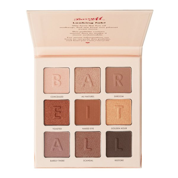 Barry M bare it all palette