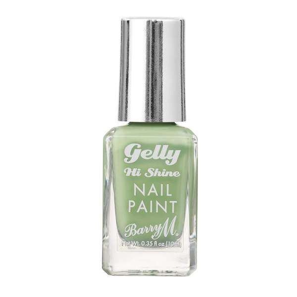 Barry M gelly nail varnish pistachio