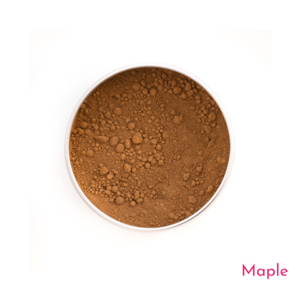 Love the planet foundations--maple