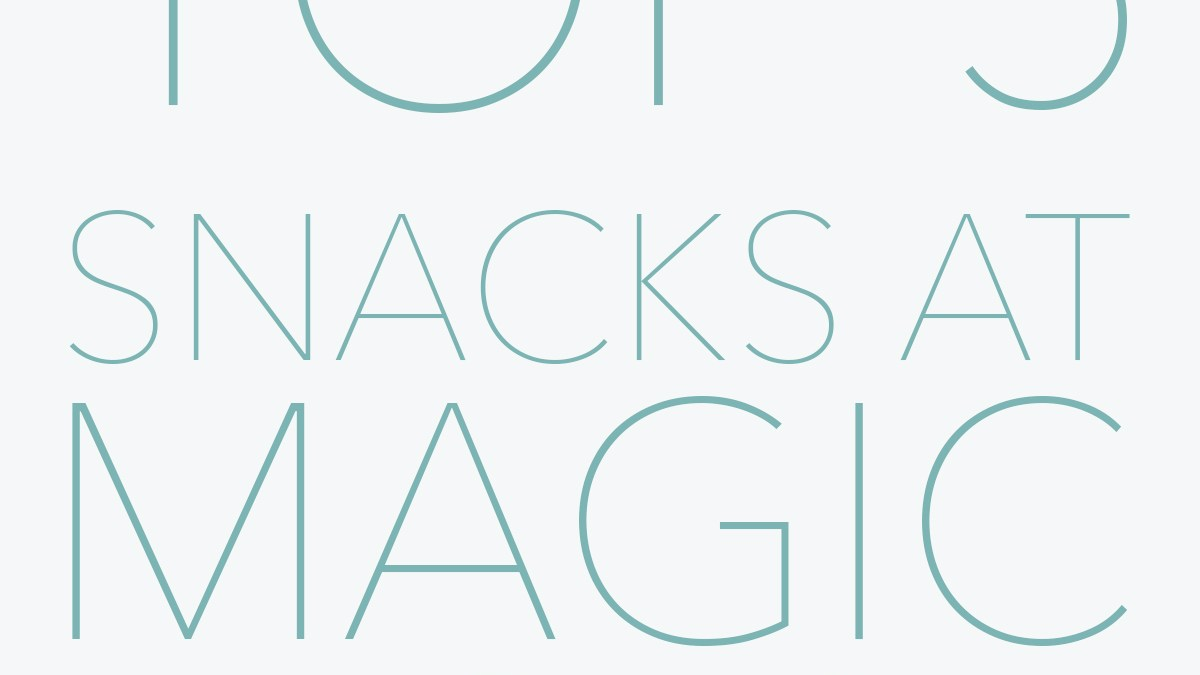Top 5 Snacks at Magic Kingdom