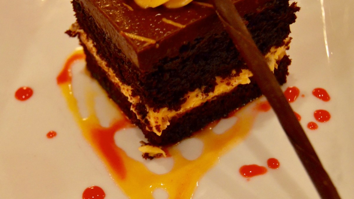 Shutters at Old Port Royale: Chocolate-Orange Cake