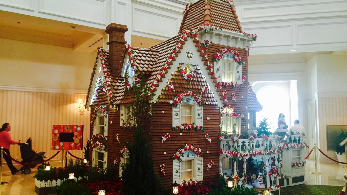 Grand Floridian Gingerbread Cookies