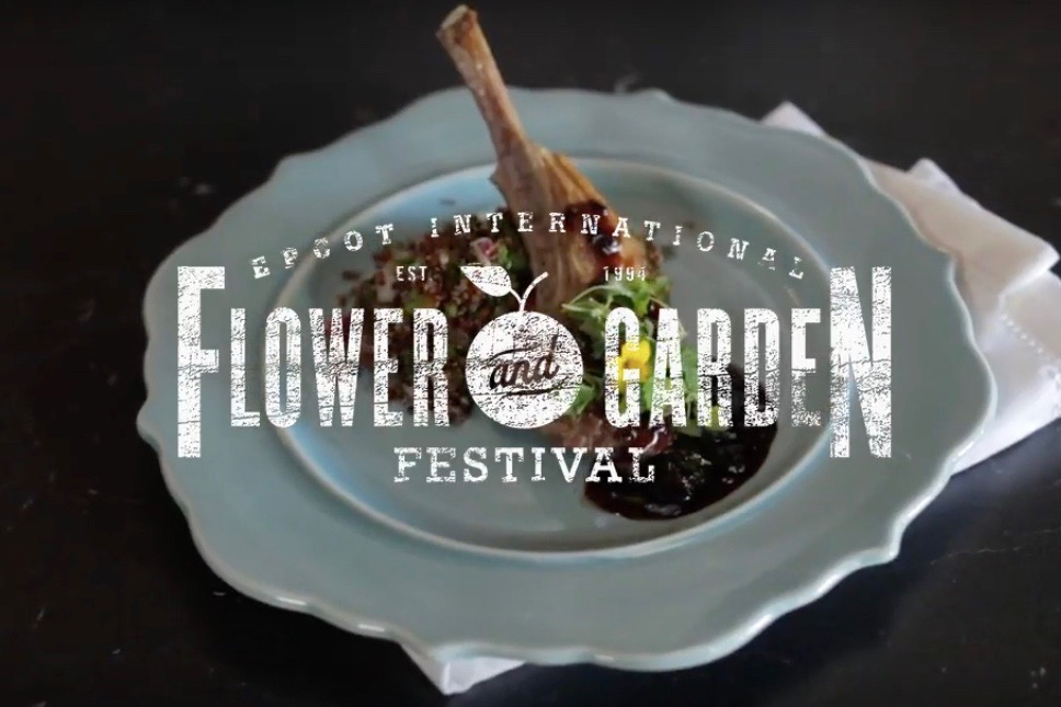 Epcot Flower and Garden Festival with a Disney Sous Chef
