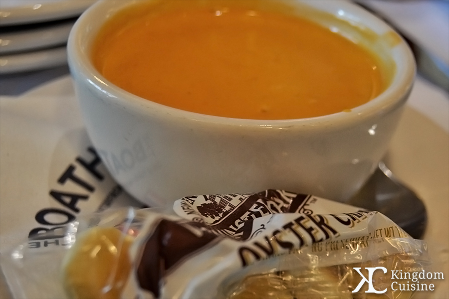 The Boathouse: Maine Lobser Bisque