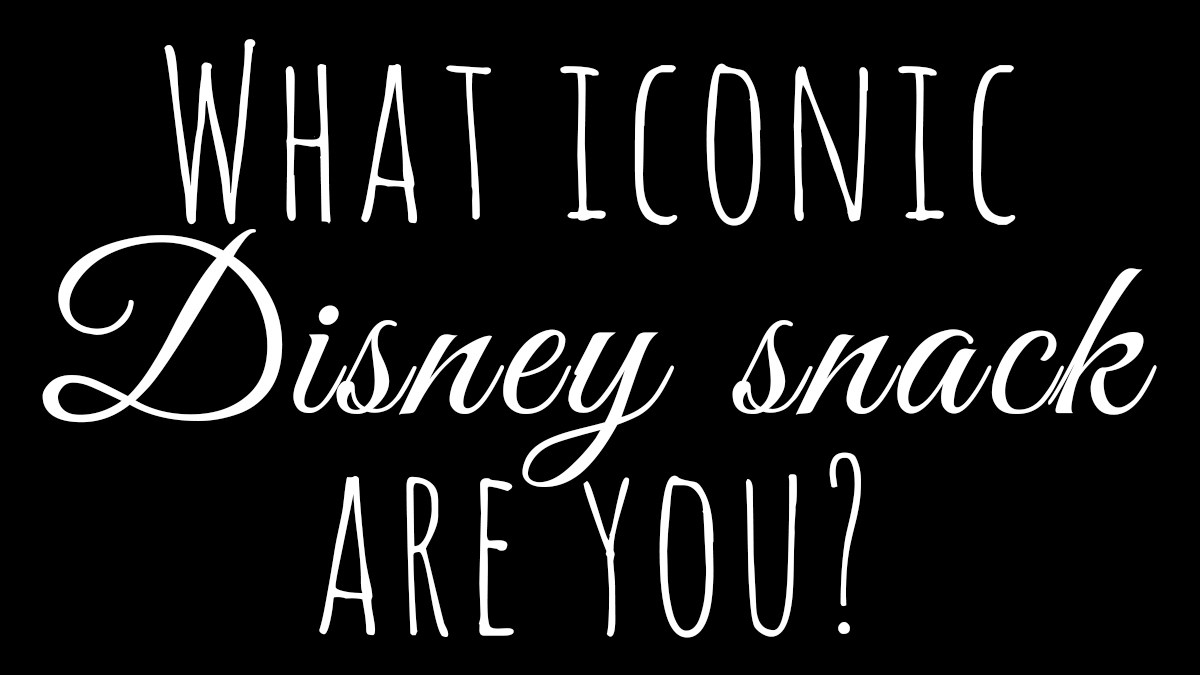 What iconic Disney snack are you?