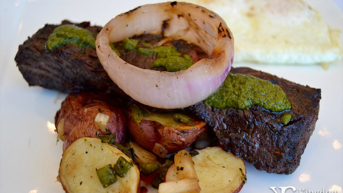 California Grill: Grilled Hanger Steak
