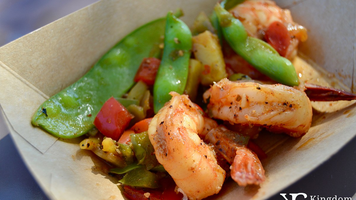 Grilled Sweet and Spicy Shrimp