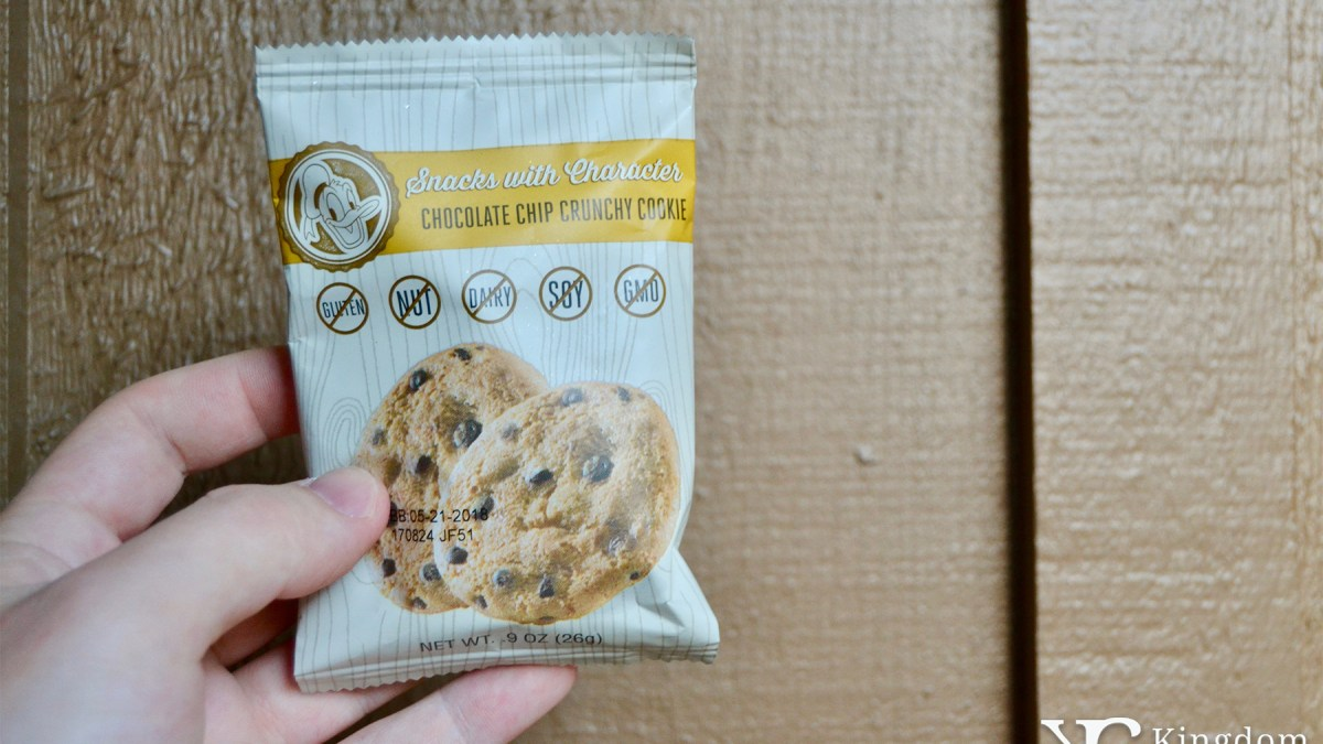 Chocolate Chip Crunchy Cookie
