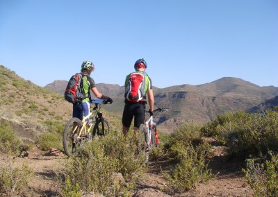 Darol Howes and Christian Schmidt scouting for the 2011 Lesotho Sky
