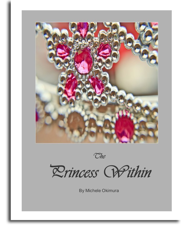 Princess within book cover