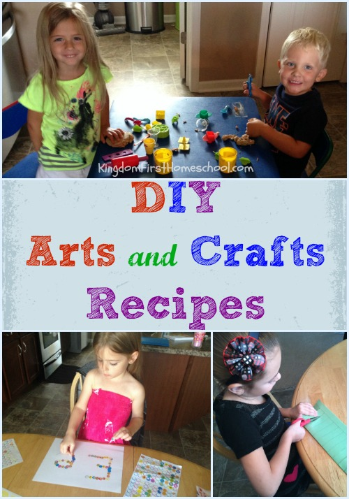 DIY Arts and Crafts Recipes