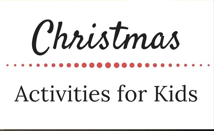Christmas Activities for Kids & Weekly Wrap-Up