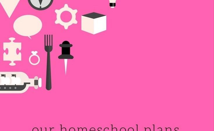 Homeschool Plans for Tot School, Kindergarten & 1st Grade