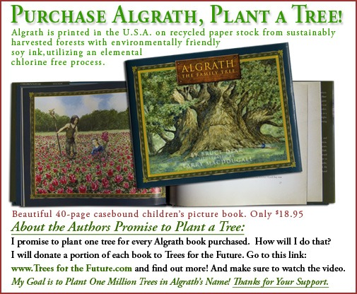 Algrath the Family Tree Children's Book