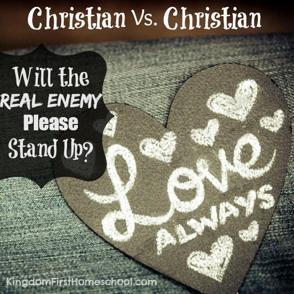 Christian vs Christian Will
