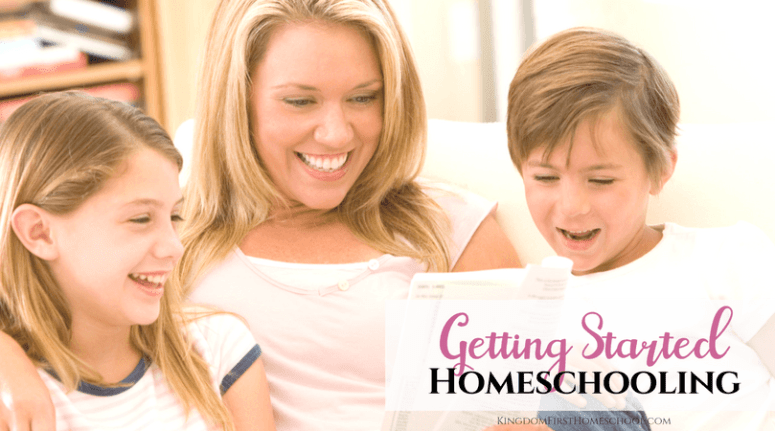 Getting Started Homeschooling can be a bit scary from the outside looking in. But I'm here to help make this a smooth process for you. You got this. I have compiled a list of info and links that will get you on your way to be a full fledged homeschool mom.