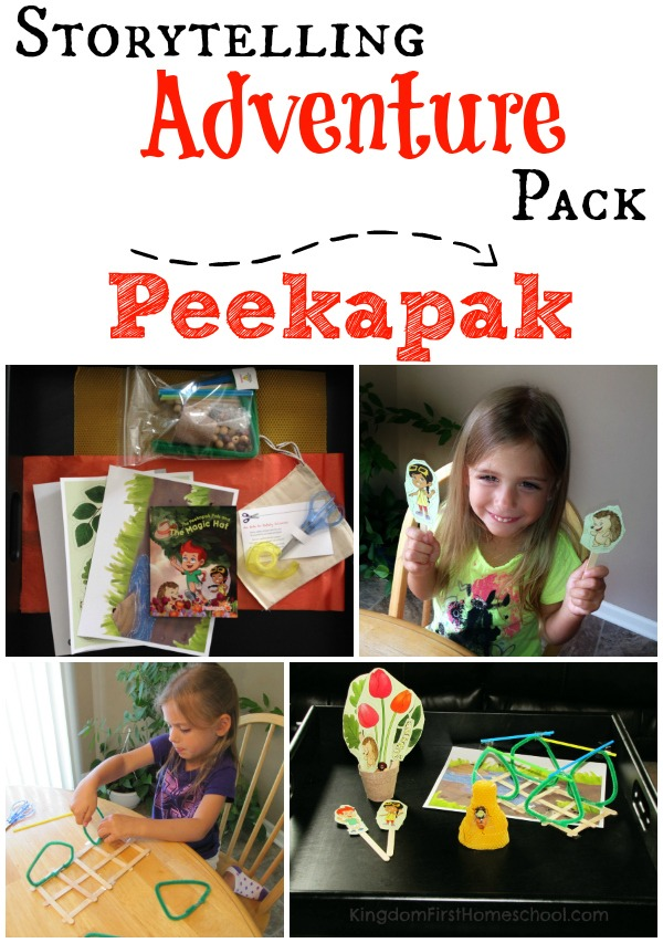 Peekapak Storytelling Adventure Pack Review