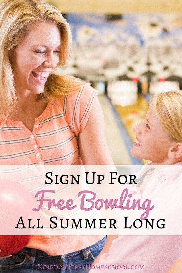 Looking for something fun to do this summer. Sign up for free summer bowling for kids.
