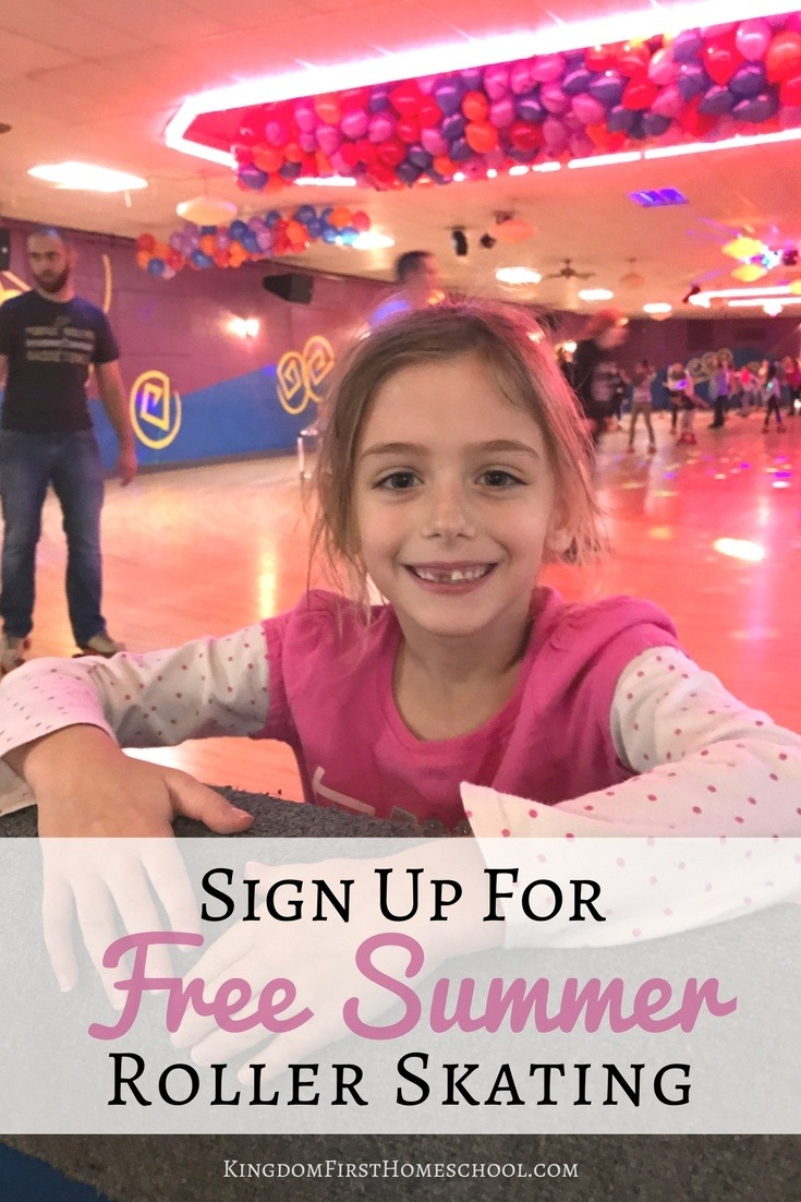 Looking for something fun to do this summer? Why not sign up for free summer roller skating for kids and go make some super fun family memories.