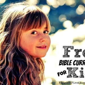List of Free Bible Curriculum for Kids