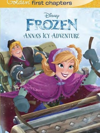 Disney Frozen – Anna's Icy Adventure Chapter Book