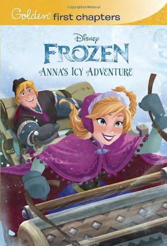 Disney Frozen Annas Adventures Chapter Book