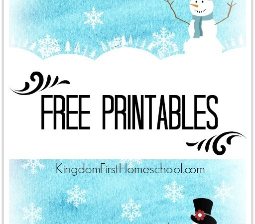 Let it Snow Free Printables