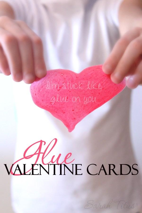 Glue Valentine Cards