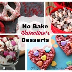 No Bake Valentine's Day Desserts? … Yes Please!