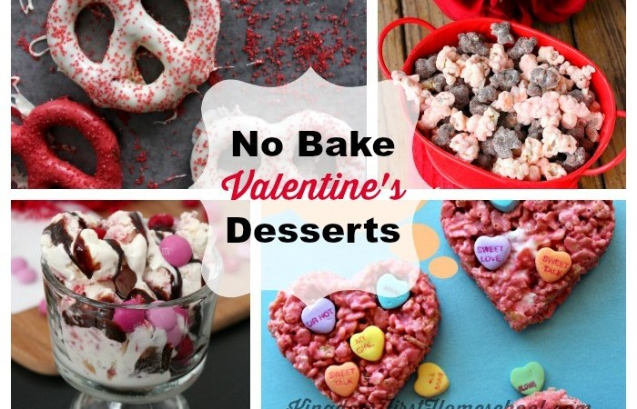 No Bake Valentine's Day Desserts? … Yes Please!
