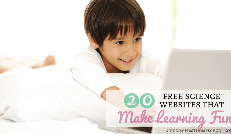 20 Free Science Websites that make Science Fun