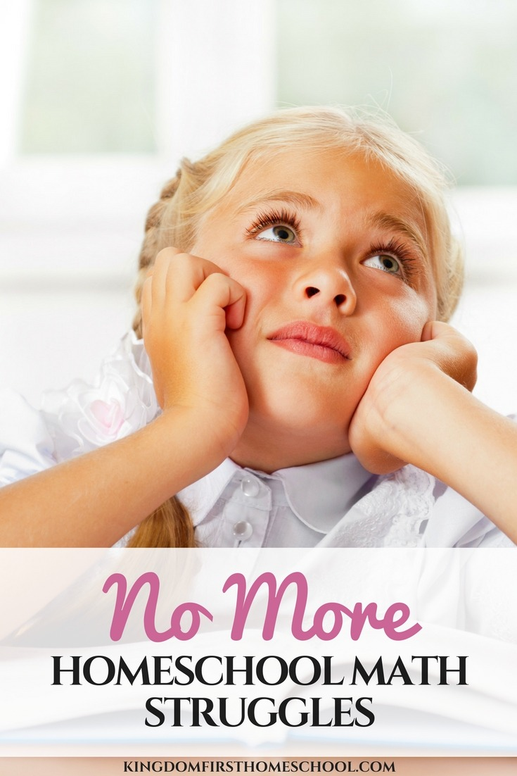 No more homeschool math struggles! How our homeschool days went from tears to cheers