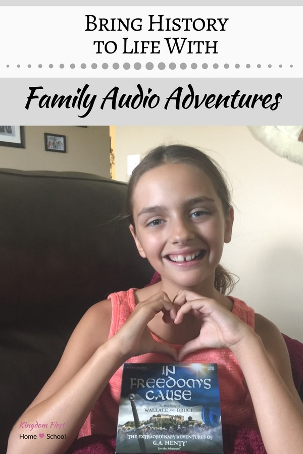 Audio Adventures from the creators of Adventures In Odyssey. These are not your average audio books they are more like a movie for your ears.
