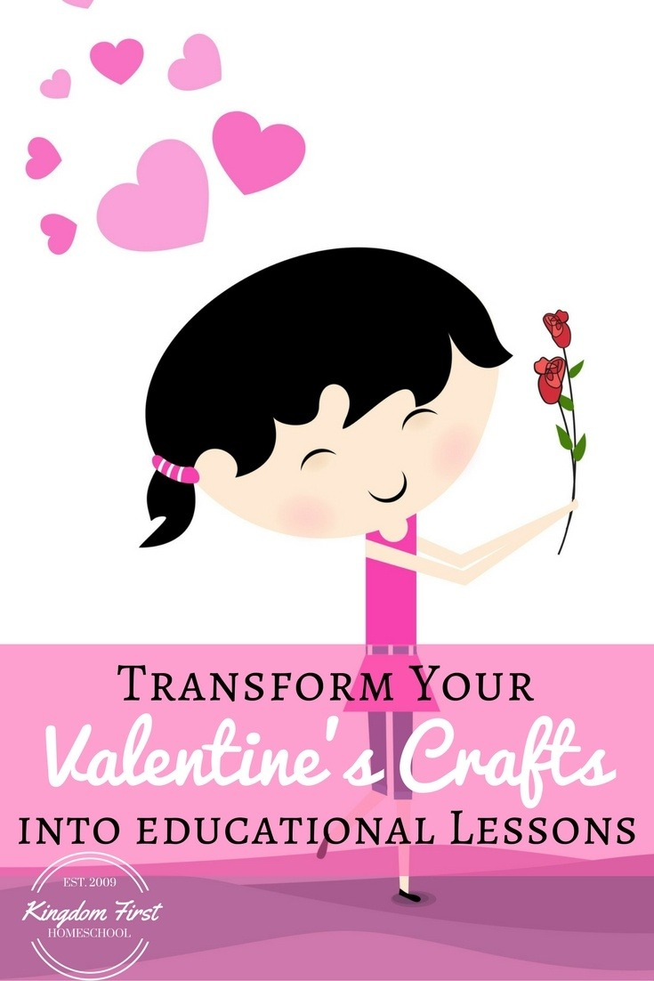 Transform Your Valentine's Crafts into educational lessons