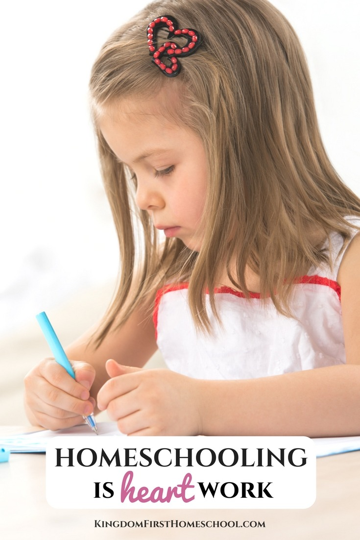 Math, reading, writing etc. are all important, but nothing is more important than shaping the character of our children. Homeschooling is heart work. #homeschool #homeschooling #Charactertraining