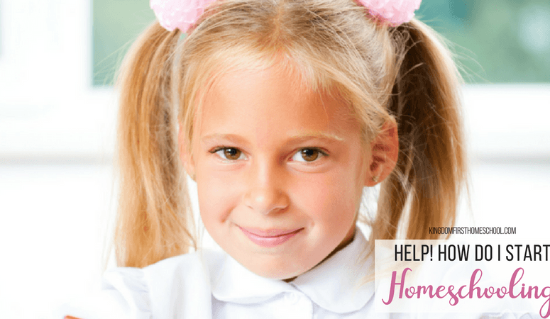 Help! How do I Start Homeschooling?