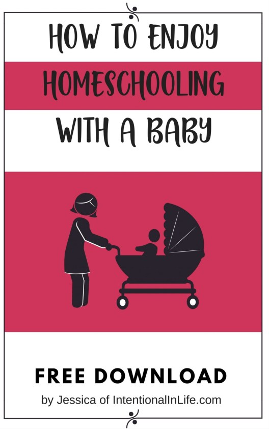 Free download packed with Practical tips on how to enjoy homeschooling with your baby