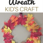 Paper Plate Autumn Wreath Kid S Craft