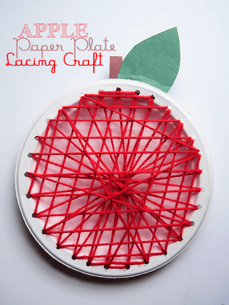 apple lacing craft