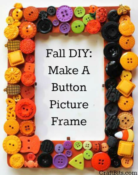 Fall Button Frame