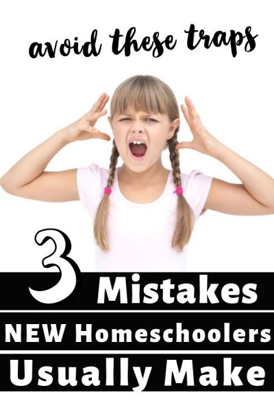 Homeschooling Mistakes