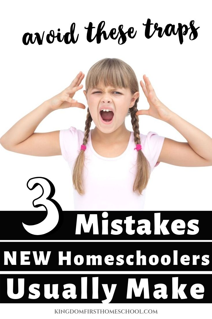 Homeschooling is fun but it is easy to make mistakes as a newbie homeschooler. This article highlights some of these common homeschooling mistakes newbie homeschoolers make and how to avoid them.