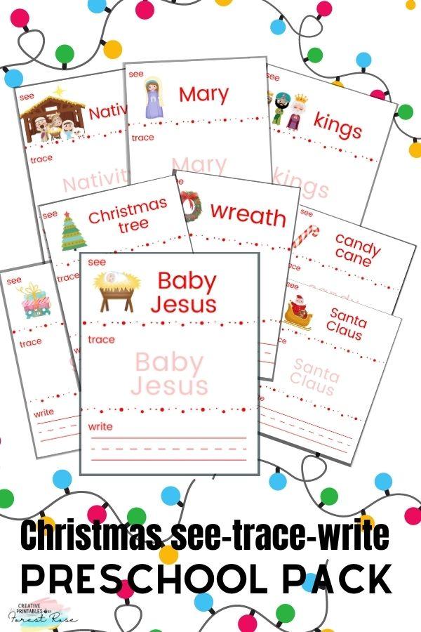 Christmas Preschool Pack